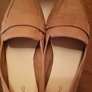 Aldo suede pointed shoes loafers size 7.5